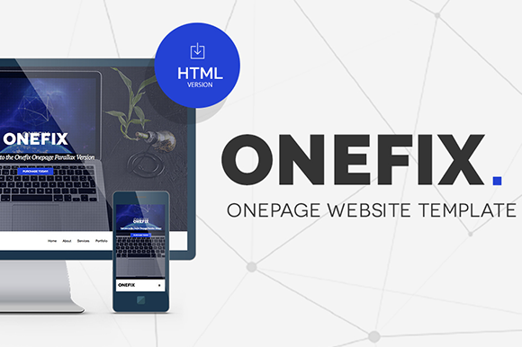 Onefix Responsive Onepage Template
