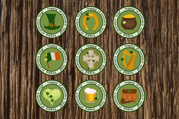 St Patrick S Day Design Elements