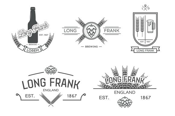 Vector Labels Of Brewery.Part II