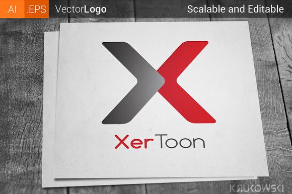 Letter X Company Logo
