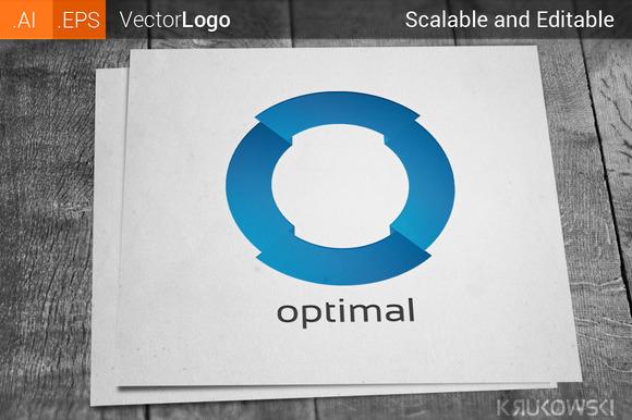 Letter O Company Logo
