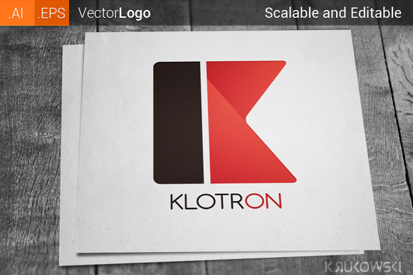 Letter K Company Logo