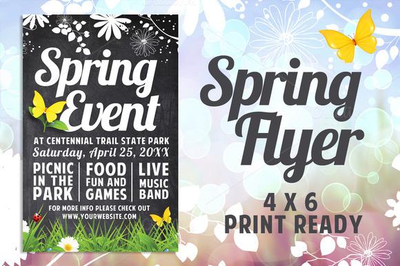 Chalk Spring Flyer