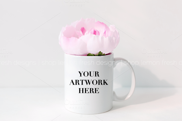 Styled Stock Mug Photography Image