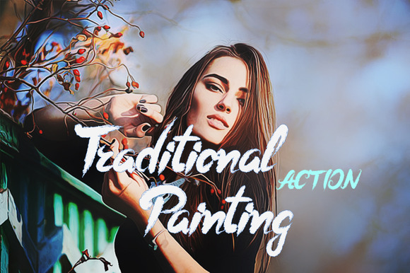 TraditionalPainting Photoshop Action