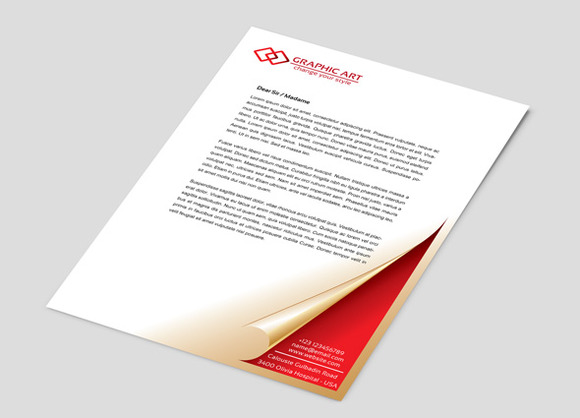 Simple Corporate Letterhead
