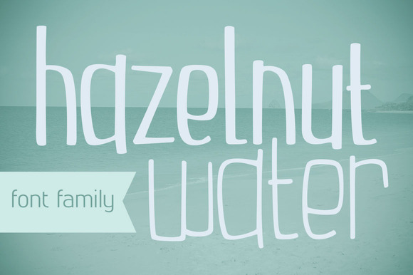Hazelnut Water Font Family