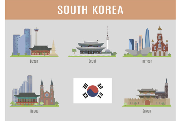 Cities In South Korea