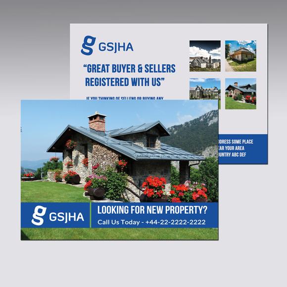 Real Estate A5 Horizontal Flyer