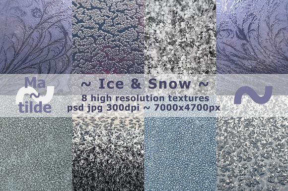 Ice Snow Textures