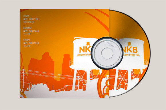 CD Cover Mock-Up
