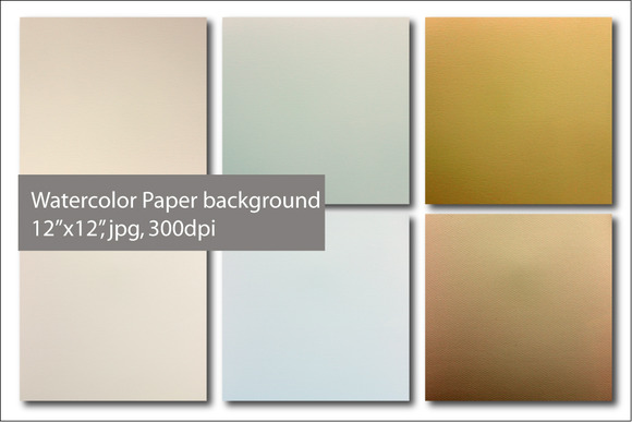 Watercolor Paper Background