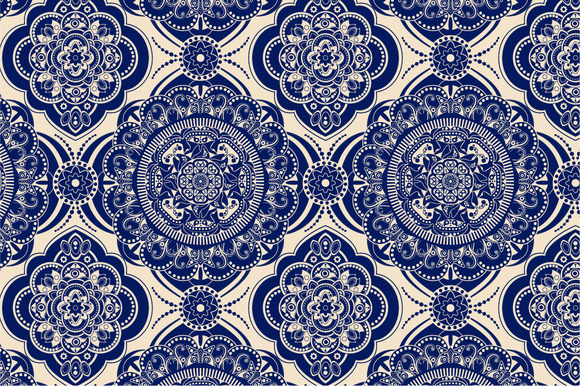 2 Ornamental Seamless Pattern