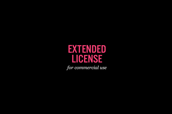 Extended Use License For Commercial