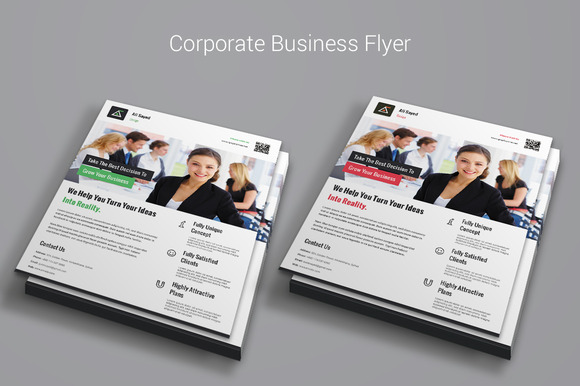 Simple Modern Corporate Flyer