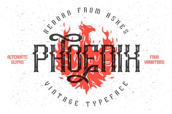 Phoenix Typeface