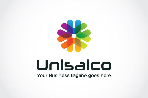 Unisaico Logo Template