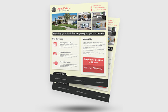 Real Estate Flyer