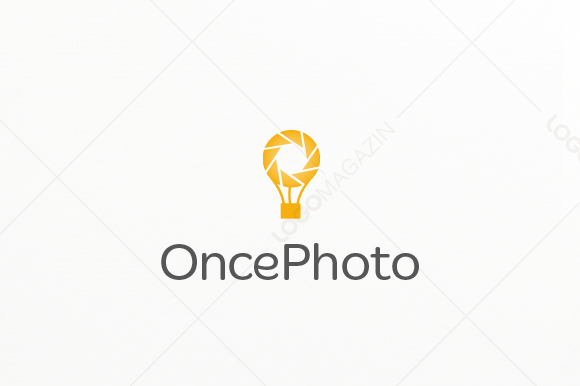 Photography Balloon Logo
