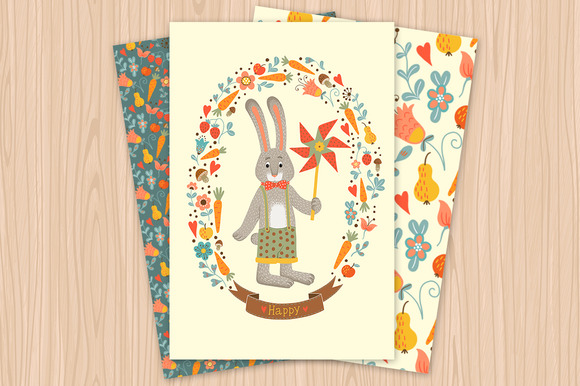 Spring Greeting Card Happy