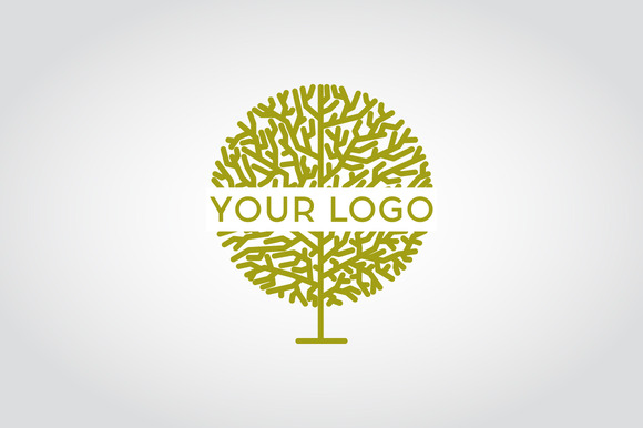 Vector Linear Tree Logo
