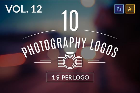 10 Photography Logos Vol 12