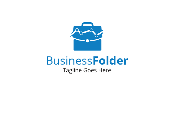 Business Folder Logo