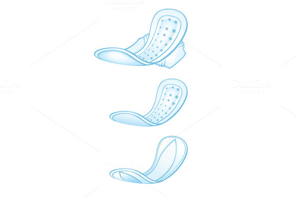 Hygiene Pantyliners Clipart
