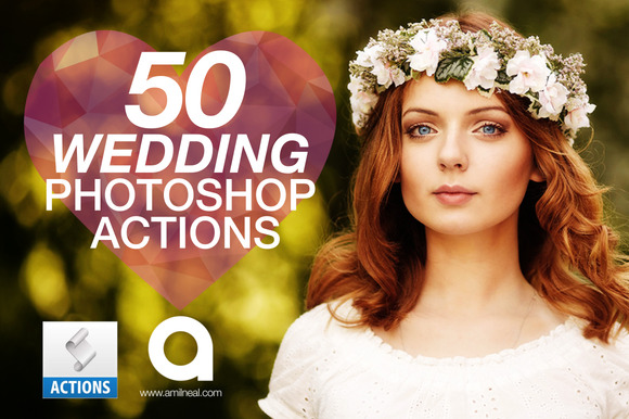 50 Wedding Photoshop Actions