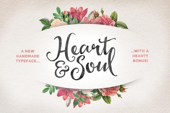 Heart Soul Typeface