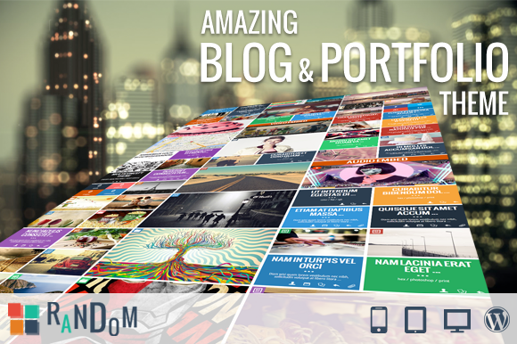 RaNdOm Impressive Cool WP Theme
