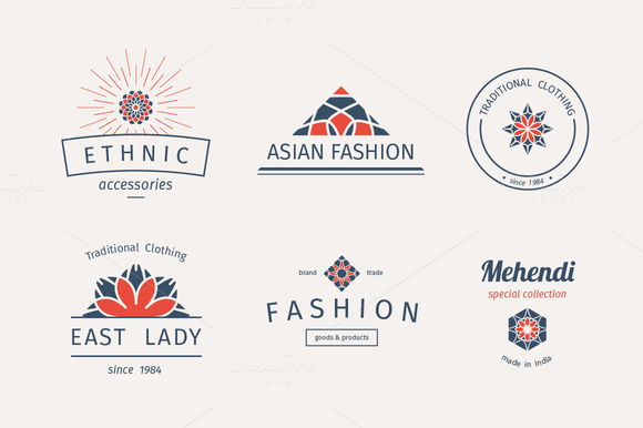 6 Fashion Logo Templates