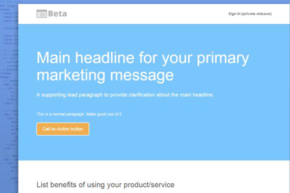 Bootstrap Beta