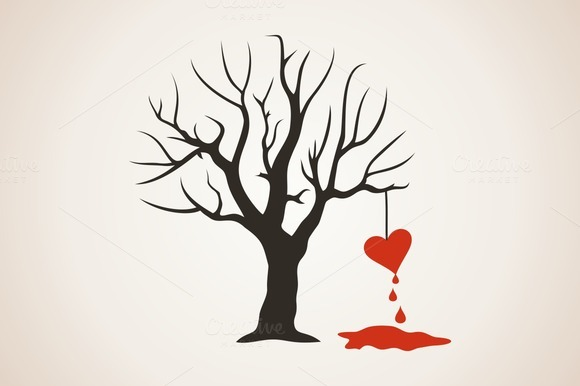 Heart On A Tree