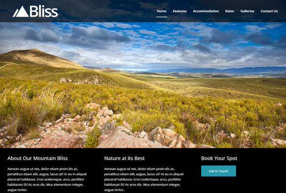Bliss Accommodation Portfolio