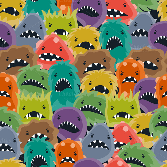 Patterns With Little Angry Viruses