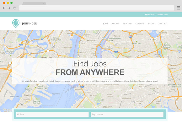 JobFinder WordPress Job Listings