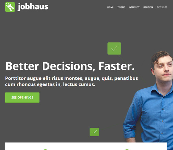 JobHaus Job Listings Theme