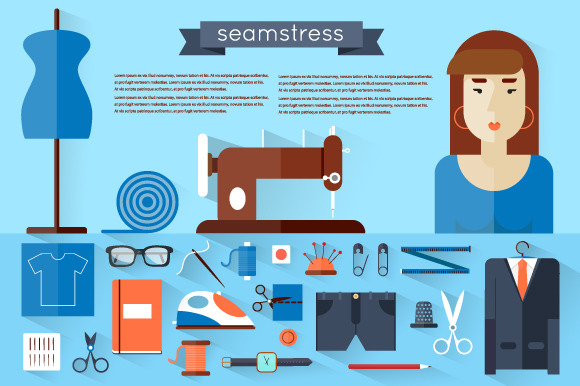 Seamstress Workplace