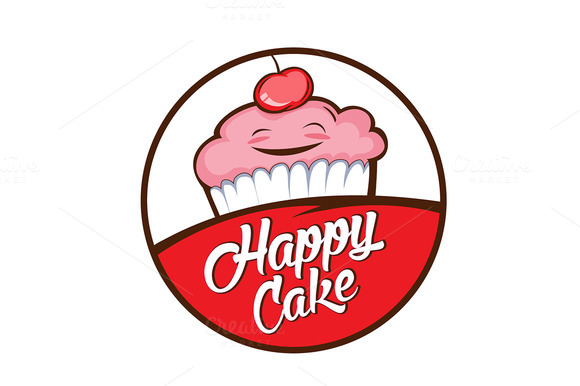 Cake Logo Design Psd : Cake Shop Logo Psd Template   Designtube - Creative Design ...