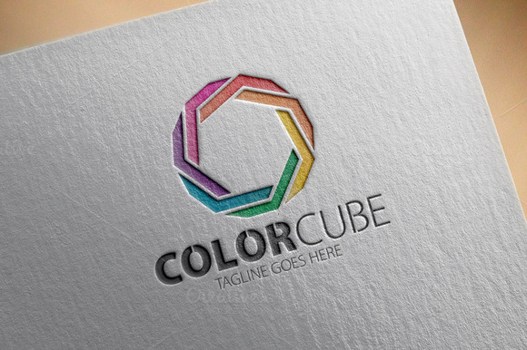 Color Cube V1 Logo