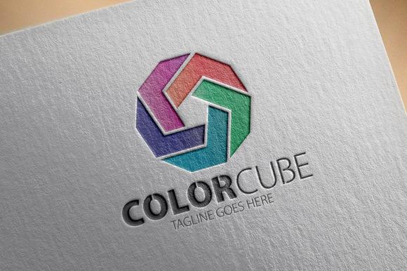 Color Cube V2 Logo