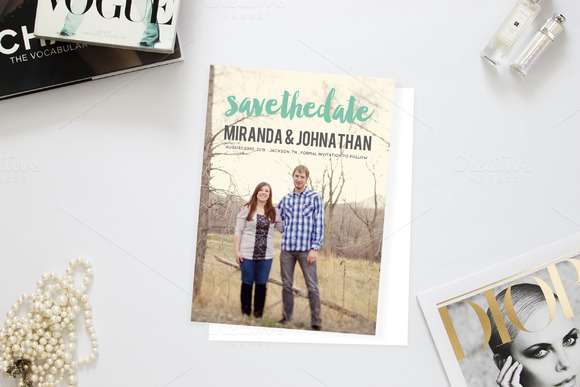 Cute Photo Save The Date
