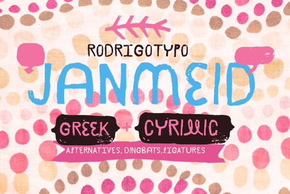 Janmeid 50% Greek Cyrillic