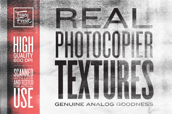 Real Photocopier Textures