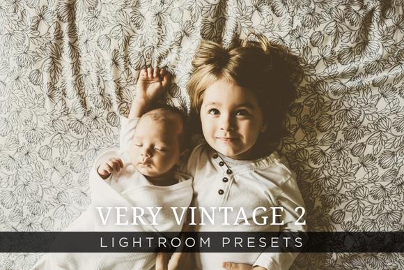 Very Vintage Lightroom Presets Vol 2