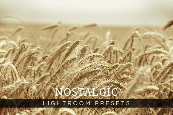 Nostalgic Lightroom Presets Volume 1