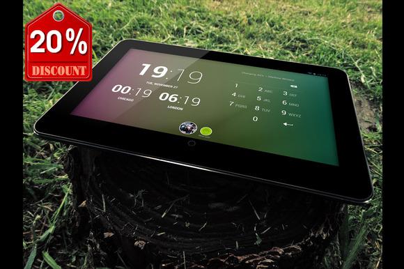 Bundle PhotoRealistic Tablet