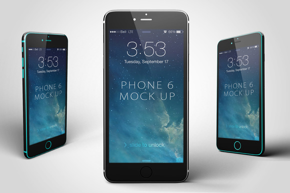 IPhone 6 Mock-Up