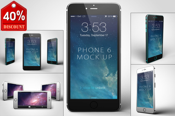 Bundle IPhone 6 Mock Up